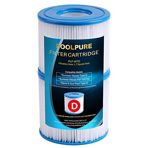 POOLPURE Summer Escapes Replacement Filter for Type D, Summer...