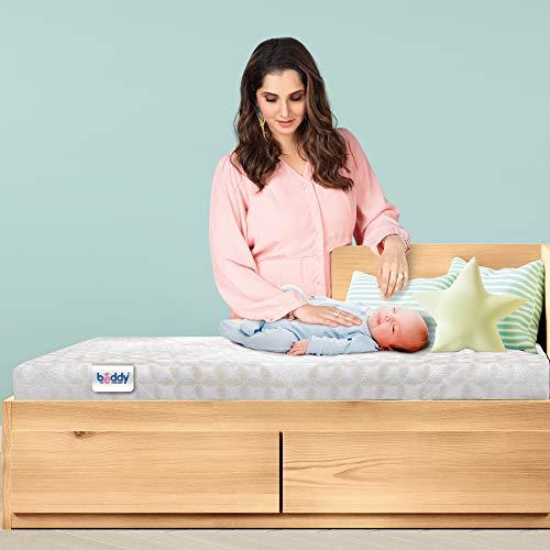 Centuary Mattresses Beddy Nest Crib Cot Natural Baby Child Coir Latex Mattress (140 * 70 * 10 cm)