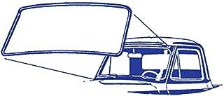 Compatible with Ford DENNIS CARPENTER FORD RESTORATION PARTS Ford Bronco Upper Door Seal for TOP of Door Frame