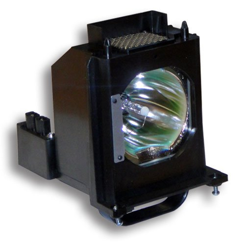 Aurabeam for Mitsubishi wd-73735 Compatible Replacement Rptv Lamp Bulb with Housing