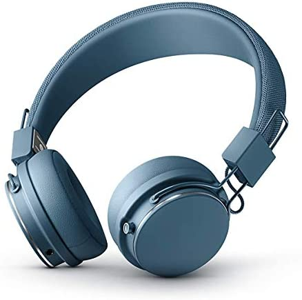 Urbanears Plattan 2 Bluetooth On-Ear Headphone, Black (04092110)