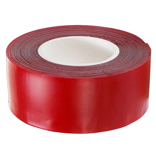 EsportsMJJ 3mx10-30mm voertuig permanente dubbelzijdige Sticker lijm acryl schuim tape, 30mm, Rood, 1