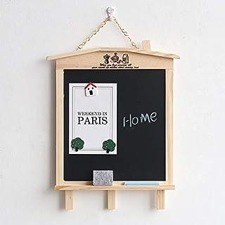 لوازم المكتب المدرسية لوحة عرض لوحة سوداء صغيرة خشبية مغناطيسية نوع الأطفال الكتابة سبورة سوداء صغيرة لوحة رسالة