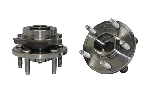 Detroit Axle New Rear Wheel Hub and Bearing Assembly 2009 2010 2011 2012 2013 2014 2015 2016 for Ford Edge Flex Taurus Lincoln MKS MKT MKX