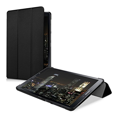 kwmobile Funda Compatible con Samsung Galaxy Tab A 10.1 (S-Pen) (2016) - Carcasa de Cuero sintético con Tapa magnética y Soporte para Tablet
