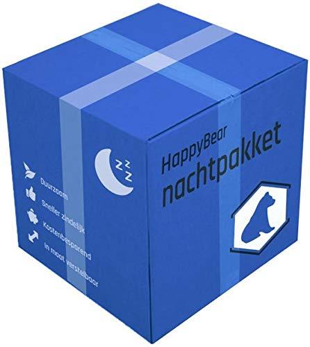 Nachtpakket met wasbare luiers HappyBear | nachtluiers | bamboe luiers | luierbroek | pakket wasbare luiers herbruikbare luiers | 5-17 kg