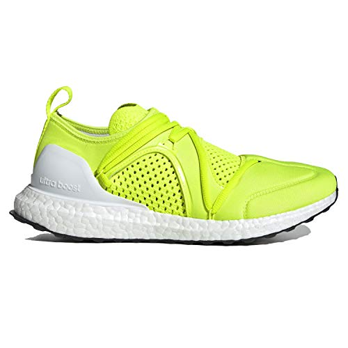 adidas Stella McCartney Women's Ultraboost Lace-Up Neoprene Running Neon Yellow G25862 (Size: 5.5)