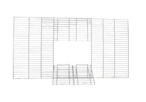 Vision - Parrilla de alambre frontal con puertas para jaula de pájaros...