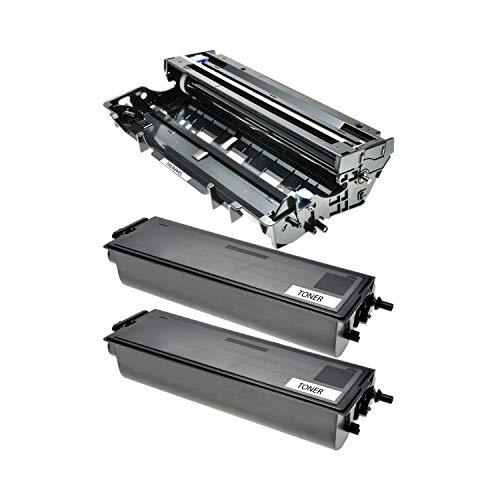 Logic-Seek 2 Toner + Trommel kompatibel für Brother TN-7600 XL DR-7000 DCP-8020 D DN HL-1600 1630 1640 1650 1670 1850 5030 5040 5050 DX E NE NTR PS DN N NLT Series LT MFC-8420 D DN