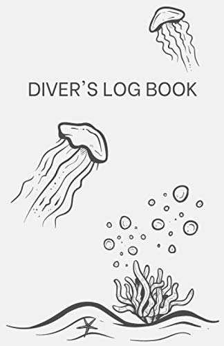 Diver's Log Book (Under the Sea Doodle): Record and Track Dives, Diving Locations Around the World and Under Water Experiences in this Small and Compact Logbook