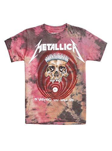 Hot Topic Metallica The Shortest Straw Tie-Dye T-Shirt