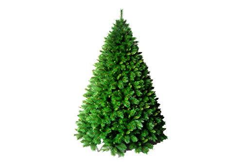 PARTENOPE Albero di Natale a Soffitto Sospeso con Gancio Upside Verde Foraker (90 cm H)