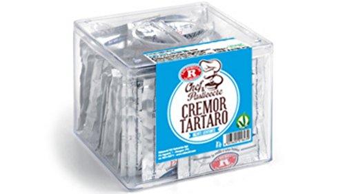 Lievitante cremor sarro paquete de 40 bolsitas de 8 grs para chef pastelería