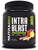 NutraBio Intra Blast - Advanced Electrolyte Performance Matrix - Amino Acid, EAA/BCAA Formula - Non-GMO, Gluten Free, Intra and Pre Workout Powder - 30 Servings - Strawberry Lemon Bomb