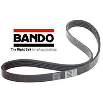 Amazon Com Bando Serpentine Drive Belt Compatible With 2003 2004 2005 2006 2007 Honda Accord Four Cylinder 2 4 Exact Replacement For 38920 Raa A03 Automotive