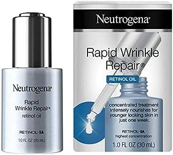 Neutrogena Rapid Wrinkle Repair Anti-Wrinkle Retinol Face Serum Oil