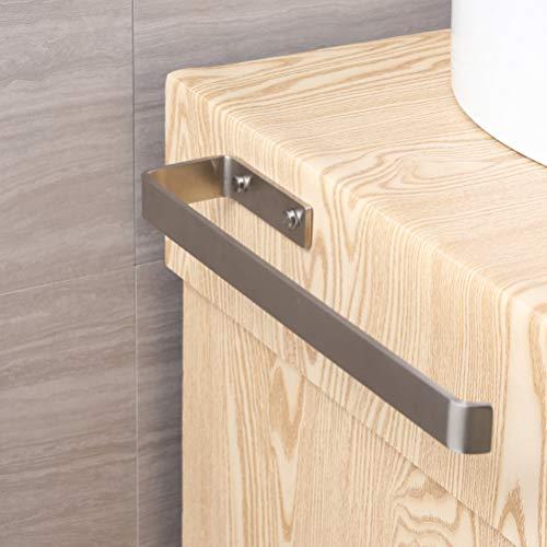 Handtuchhalter Edelstahl Gebürstet Wandmontage Handtuchstange Bad und Küche, Gebürstet Schrankmontage 40 cm
