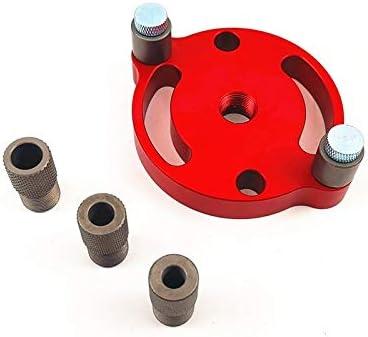 POQAQ 6/8 / 10mm Agujero de ocultación Vertical Plantilla autocentrado cajeadoras Plantilla Perforadora (Size : Type G)