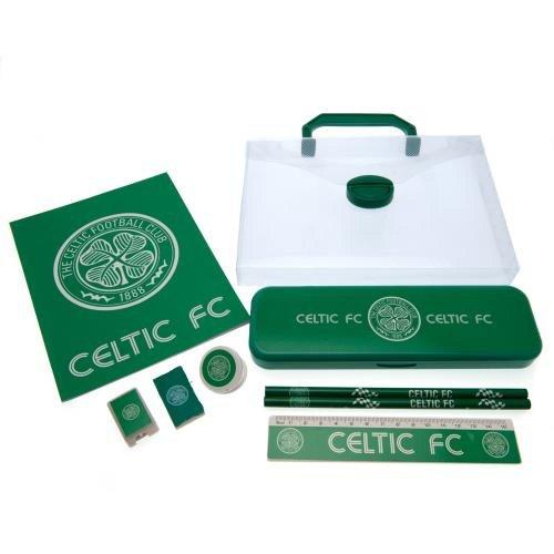 Celtic FC officiële voetbal cadeau briefpapier set - een geweldige kerst/verjaardag cadeau idee voor mannen en jongens