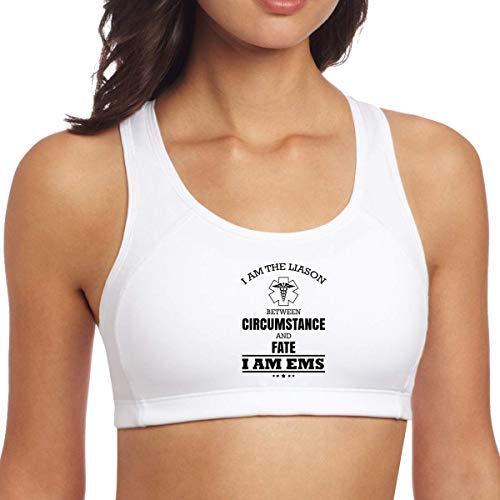 go afk plz Frauen Sport BH Ich Bin EMS Yoga Weste Fitness Tank Tops