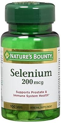Nature's Bounty Selenium 200 mcg Tablets 100 ea