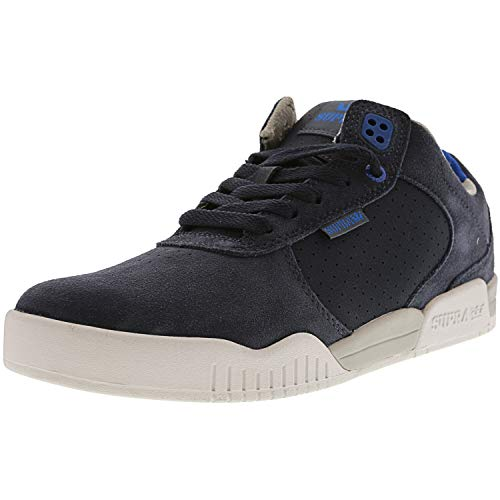 Supra Mens Ellington Lightweight Fashion Skate Shoes Navy 12 Medium (D)