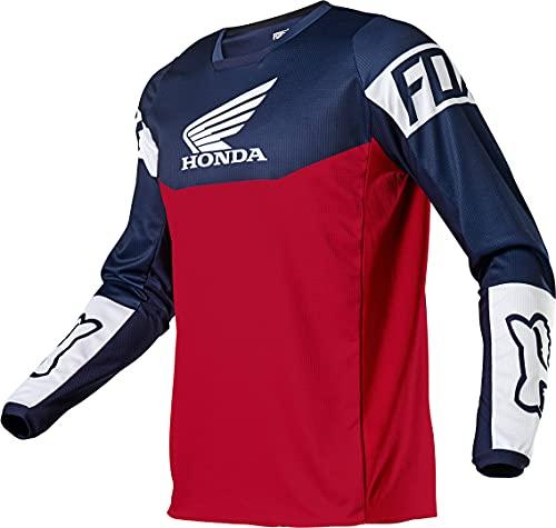 Fox 180 Honda Jersey, Marineblau/Rot, Größe L (US)