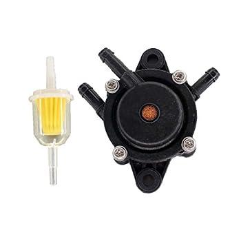 USPEEDA Fuel Pump with Fuel Filter for Bobcat Welder Generator Kohler Engine Replace Miller 198756