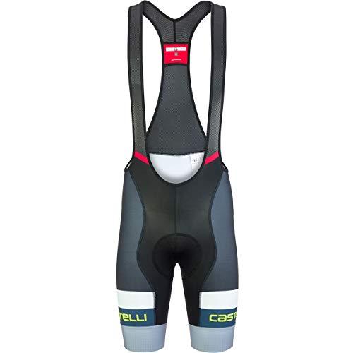 Castelli Competizione Limited Edition Bib Short - Men's Vortex Gray, covid 19 (Castelli Cycling Shorts coronavirus)