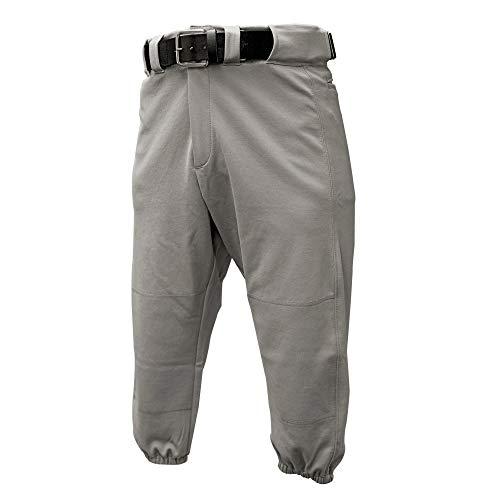 Franklin Sports - Youth Baseball and Softball Pants - Boys and Girls Pants - Grey - Large
