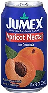 Jumex Apricot Nectar, 11.30 Ounce (Pack of 24)