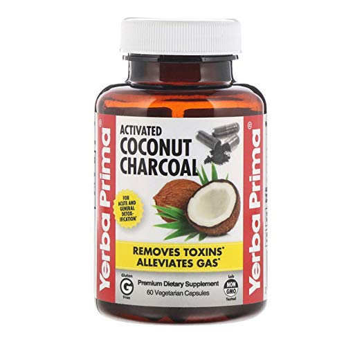 Yerba Prima Yerba Prima Activated Coconut Charcoal 60 vcaps