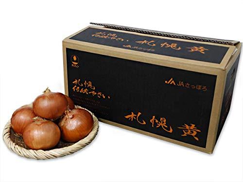 札幌黄10kg Lサイズ以上(幻のたまねぎ)さっぽろき玉葱(北海道札幌市の特産品)サッポロ東区 タマネギ(辛味が強い玉ねぎ)加熱後甘い玉ネギ