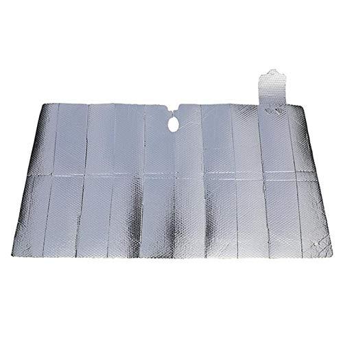 Parasol Coche Plegable del frente del coche parabrisas de la cortina de acordeón plegables bloques de 5 capas Enfriar Rayos UV parasol protector sombrilla de Keep Vehículo Cortina de malla para coche