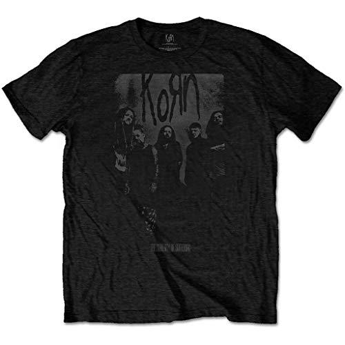 Korn 'Knock Wall' (Black) T-Shirt (small)
