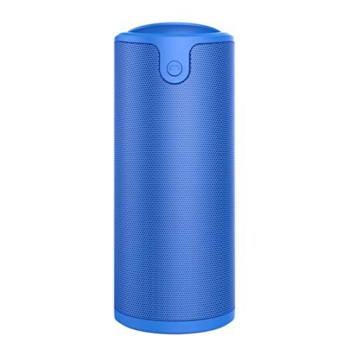 HIOD Bocina Bluetooth Multifuncion Portátil Al Aire Libre Altavoz Inalámbrico Micrófono Incorporado 33 pies (10m) Rango de Bluetooth para Familia Al Aire Libre,Blue