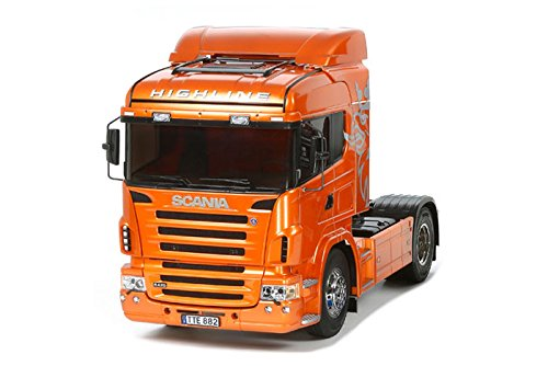 TAMIYA 56338 Highline 1:14 RC Scania R470 4x2 Fahrzeug, orange