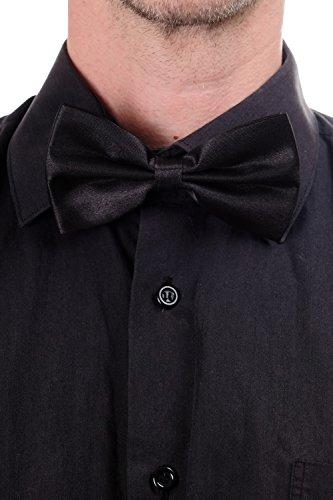 Dress Me Up - W-071B-black Halloween Karneval Fliege Bowtie Schwarz Gentleman W-071B-black