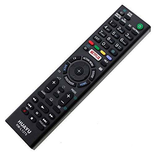Mando a distancia LED LCD 3D Sony TV RMF-TX200E RMFTX200E Netflix Remote Control, control remoto, télécommande, Kumanda, Plug & Play