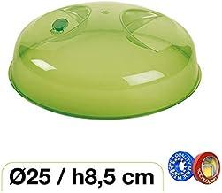 Haltra Tapa con válvula para microondas (25 x 8,5 cm) Verde