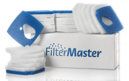 Filtermaster Aquarium-Wasserfilter BigPack Set 7 | Filter für EHEIM Professionel 3e | Filtermatte & Filtervlies | Außenfilter