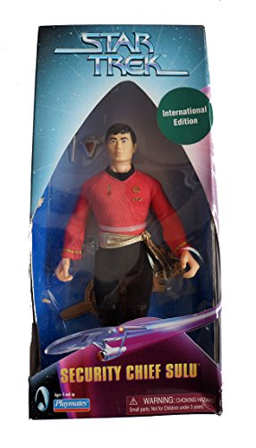 Star Trek 9' Inch Figur 'Security Chief Sulu' Mirror Mirror Classic von Playmates