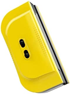 HSWJ Adjustable Magnetic Double-sided Window Cleaner Single Double Hollow Glass Cleaner 3-28mm (Color : Yellow)
