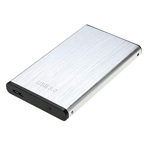 kexinda Aluminum Enclosure USB 3.0 to SATA 2.5' Hard Disk Case 6Gbps HDDSSD Storage External Disk Box for Tablet/Laptop/Desktop