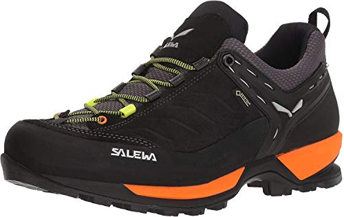 Salewa MS Mountain Trainer Gore-TEX, Zapatos de Senderismo Hombre, Negro (Black Out/Holland), 43 EU