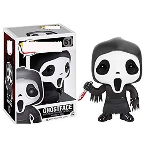 BBSpielzeug Funko Pop Scream-Ghostface 51# Figura de acción Modelo de Anime PVC Colección de Juguetes