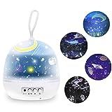 Lámpara Proyector Nabowei, Lámpara Proyector Estrellas, Luz Planetas 8 Modos...