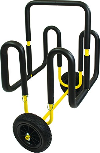 Suspenz Double SUP Airless Cart, Yellow