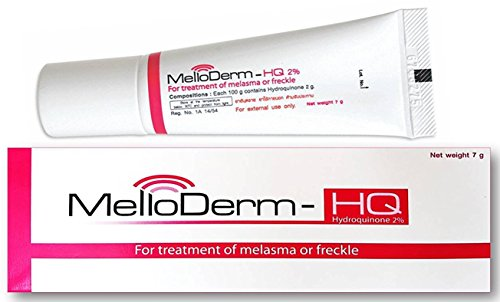 Anti Melasma Hydroquinone 2% Cream (Melloderm-hq 2% 0.25 Ounces) Once Daily At Night with Cost Effectiveness Treatment…- Buy Online in Pakistan at Desertcart. ProductId : 18089938.