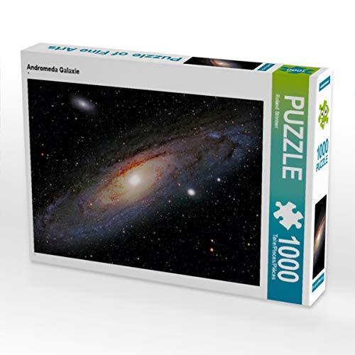 CALVENDO Puzzle Andromeda Galaxie 1000 Teile Lege-Größe 64 x 48 cm Foto-Puzzle Bild von Rolande